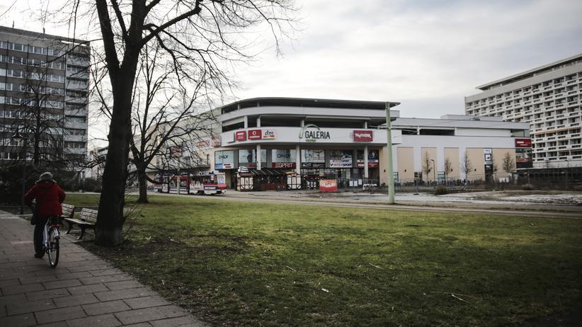 Cottbus: Das Einkaufscenter Blechen Carré in der Innenstadt von Cottbus