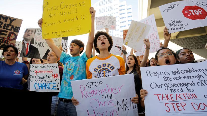 Florida Forderung Waffengesetze USA