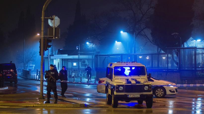 Montenegro: Selbstmordanschlag auf US-Botschaft