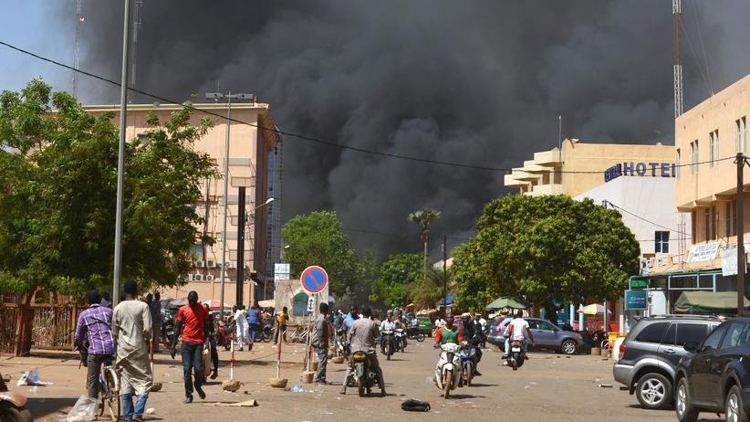 Burkina Faso: Angriff auf Regierungsviertel in Ouagadougou