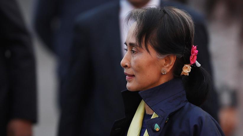 Myanmar: Myanmars faktische Staatschefin Aung San Suu Kyi