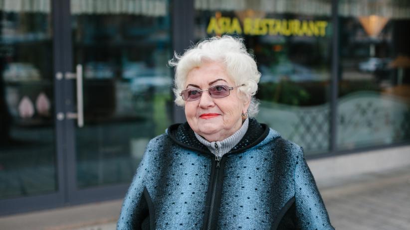 Oberbürgermeisterwahl Frankfurt (Oder): Helena Michalska (75) wohnt seit 30 Jahren in Frankfurt, sie kommt aus Schlesien.