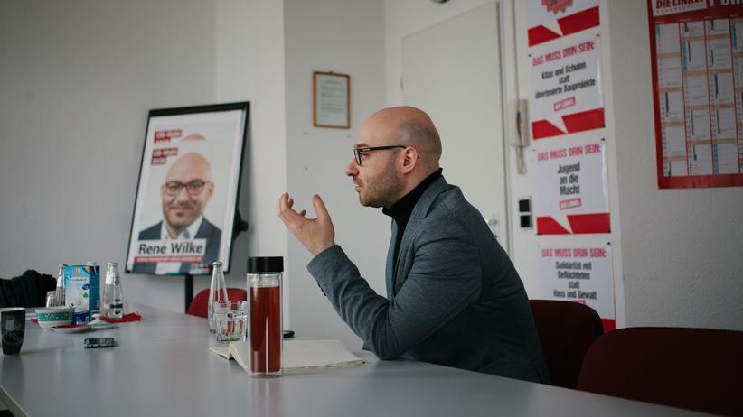 Oberbürgermeisterwahl Frankfurt (Oder): Der von Grünen und Linken nominierte Oberbürgermeisterkandidat René Wilke