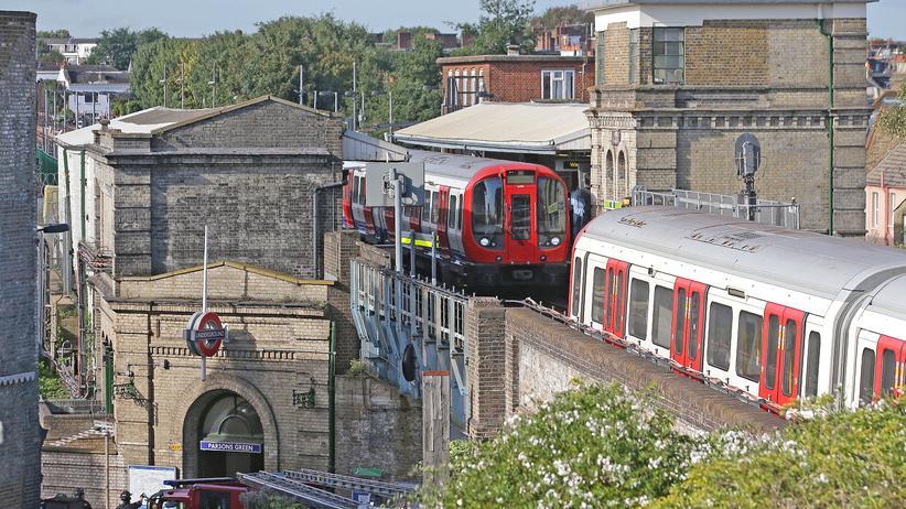 Islamismus: Die Londoner U-Bahn am Tag, als die Bombe gelegt wurde