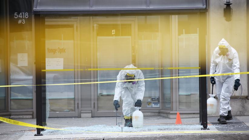 Toronto: Amokfahrer des zehnfachen Mordes angeklagt