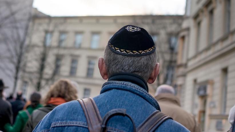 Judenfeindlichkeit: Ein Kippa-Träger in Berlin