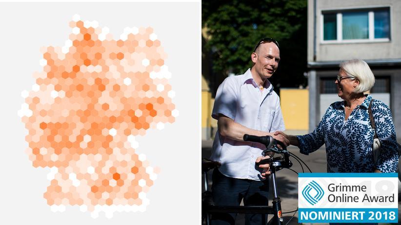 Grimme Online: Zwei ZEIT-ONLINE-Projekte für Grimme Online Award nominiert