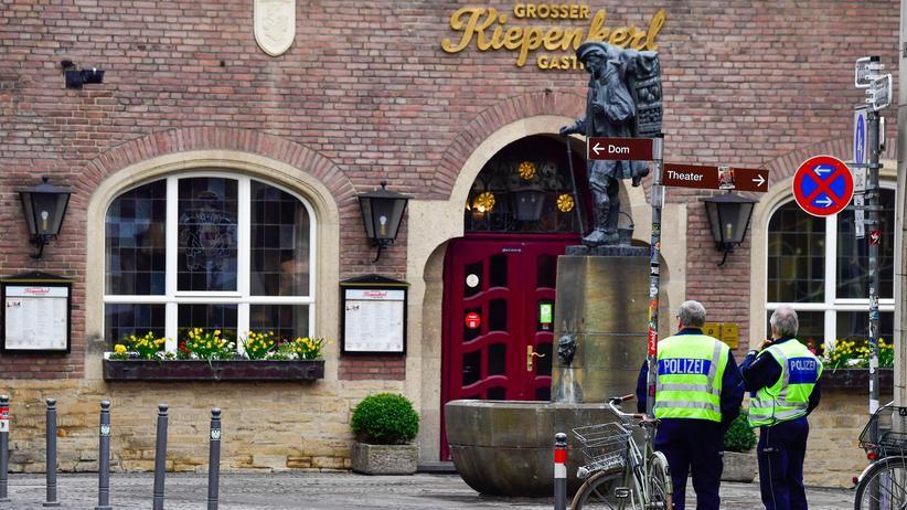 Münster: Muss man mit allem rechnen, ausgerechnet hier?