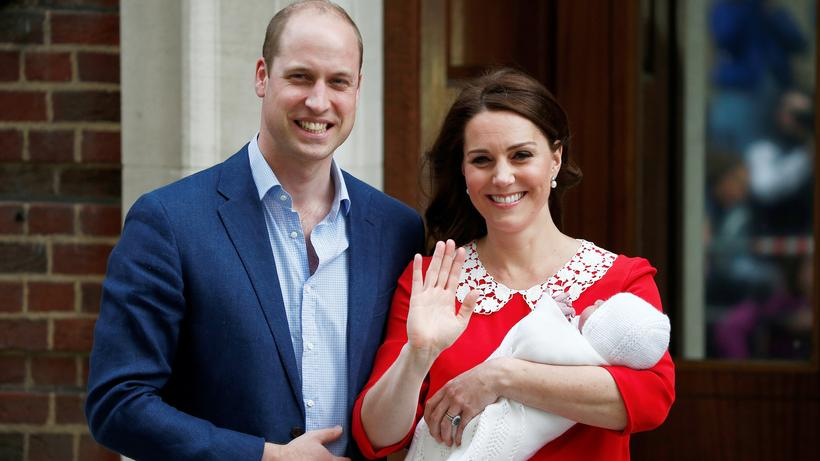 St Marys Hospital Kate Und William Bekommen Einen Sohn Zeit Online