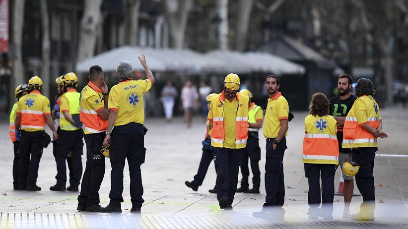 Anschlag in Barcelona: Zwei Terrorverdächtige in Frankreich festgenommen