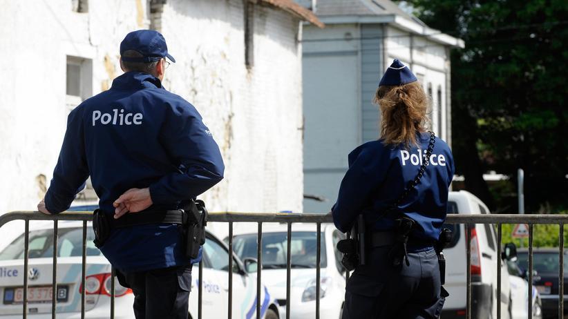 Belgien: Belgische Polizisten (Symbolbild)
