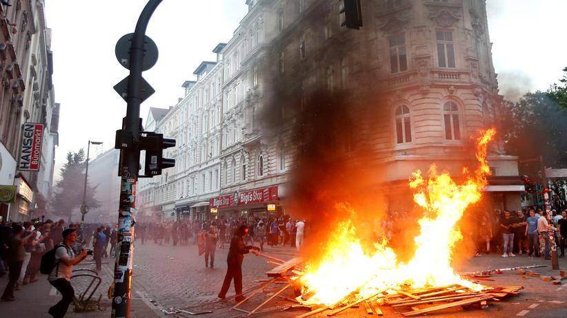 G20-Gipfel: Am Rande des Gipfeltreffens G20 in Hamburg im vergangenen Juli war es zu Ausschreitungen gekommen.
