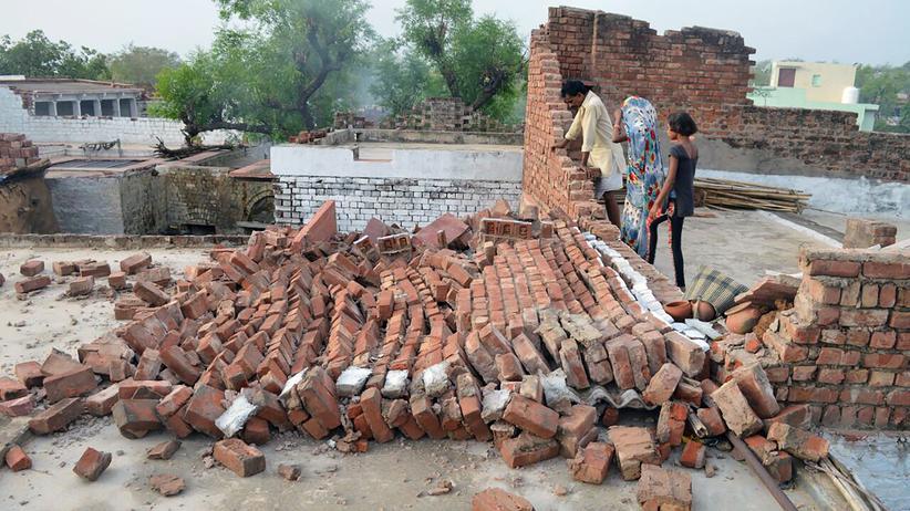 Indien: Mehr als 100 Tote durch Sandstürme