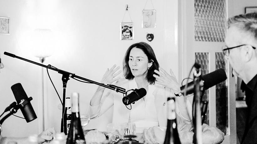Interviewpodcast: Katarina Barley beendete nach 3 Stunden und 27 Minuten das Gespräch. Dann war für sie alles gesagt.