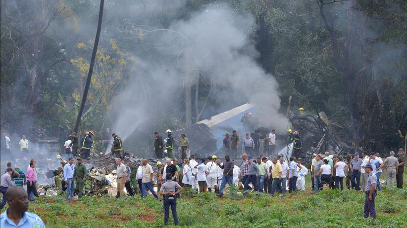 Kuba: Flugzeug mit 110 Menschen nahe Havanna abgestürzt