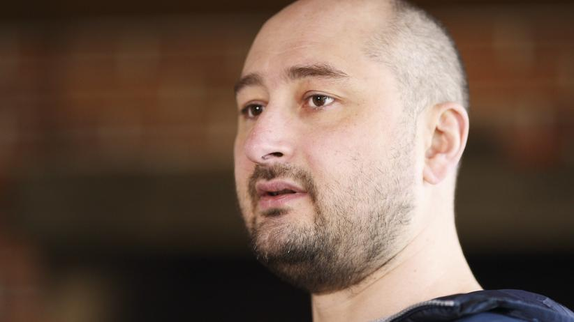 Arkadi Babtschenko: Ukraine macht Russland für Journalistenmord verantwortlich