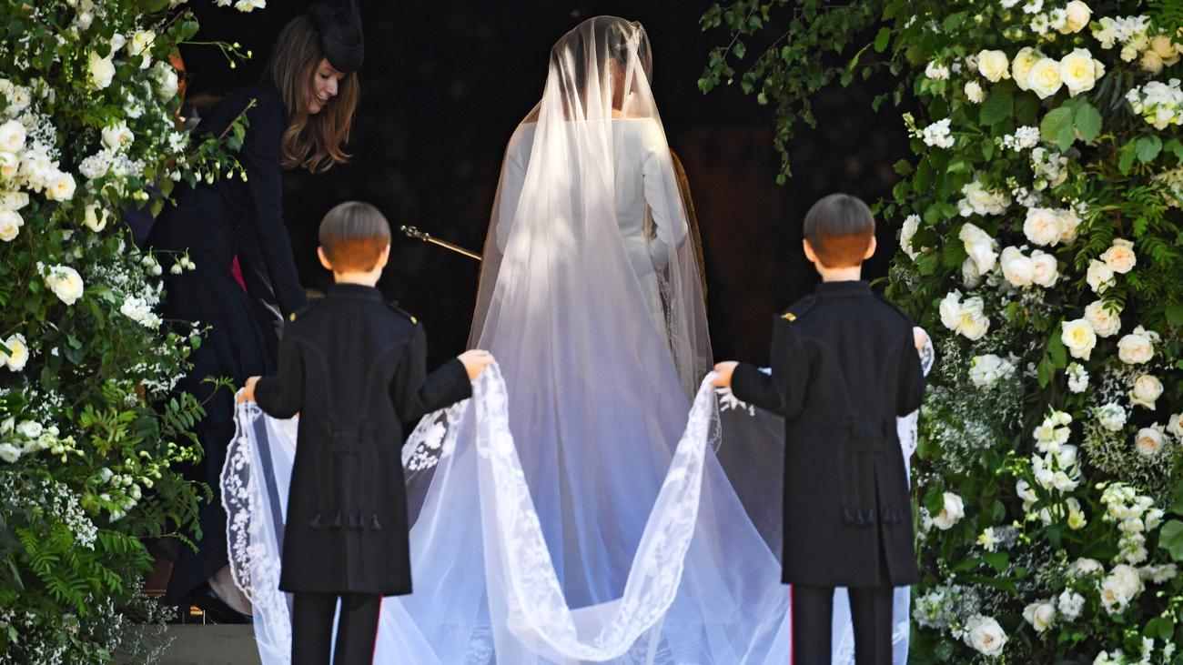 Meghan Markles Hochzeitskleid: So schlicht wie zehn Striche ...