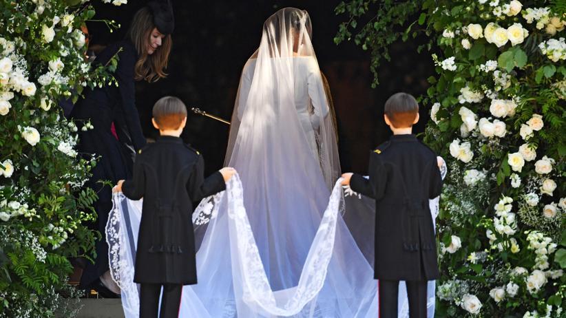 Meghan Markles Hochzeitskleid: So schlicht wie zehn Striche