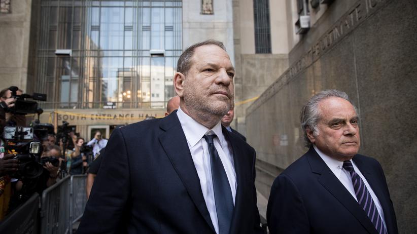Anklage wegen Vergewaltigung: Harvey Weinstein plädiert auf nicht schuldig