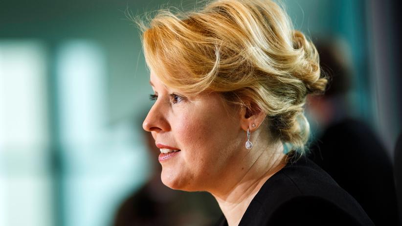 Bundesfamilienministerium: Giffey in Berlin