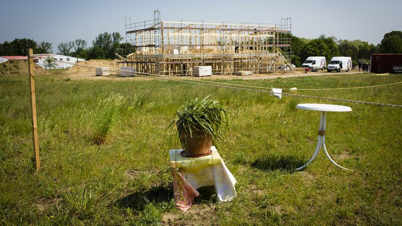 "Baustelle des Projektes ""Hitzacker/Dorf"""