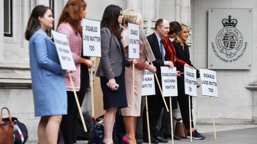 Nordirland: Oberster Gerichtshof weist Klage gegen Abtreibungsverbot ab