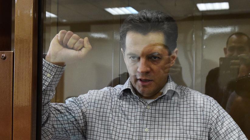 Moskau: Der ukrainische Journalist Roman Suschtschenko im russischen Gerichtshof