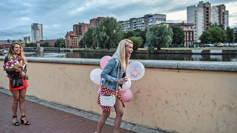 Russland: Am Ufer des Pregel in Kaliningrad