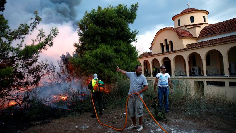 Griechenland: Noch mehr Tote durch Brände im Großraum Athen
