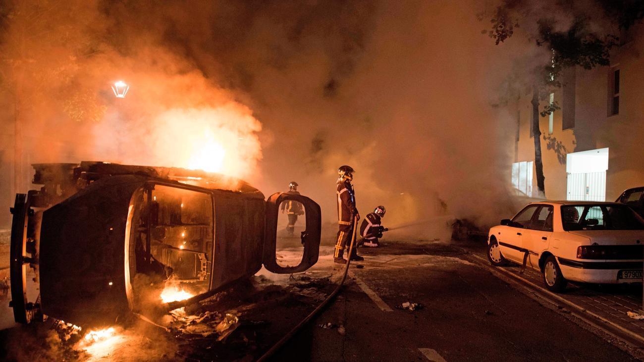 Frankreich: Unruhen in Nantes nach tödlichem Polizeieinsatz