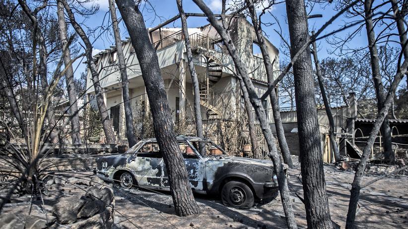 Waldbrände: Einsatzkräfte in Griechenland finden weitere Tote
