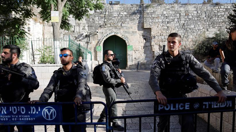Tempelberg: Israel schließt vorübergehend Al-Aksa-Moschee in Jerusalem