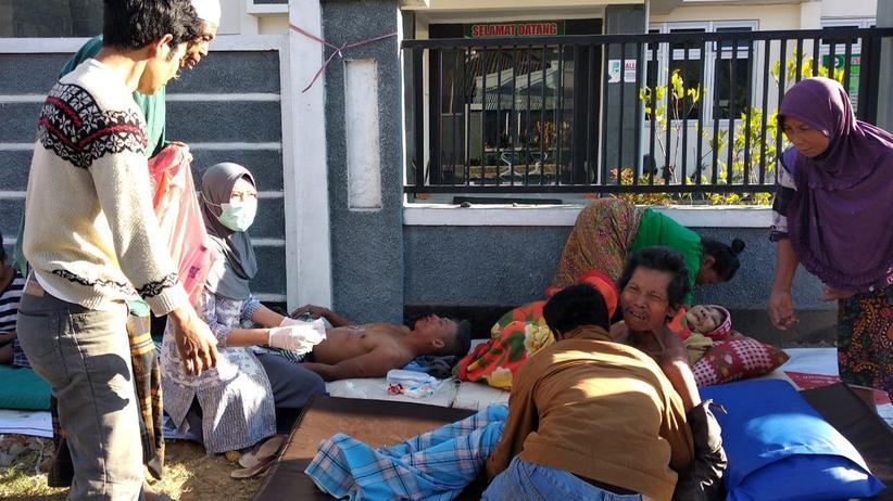 Indonesien: Mehrere Tote bei Erdbeben auf indonesischer Ferieninsel