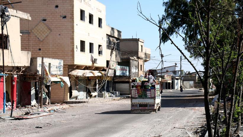 Syrien-Krieg: Viele Tote bei Angriffen auf Nawa