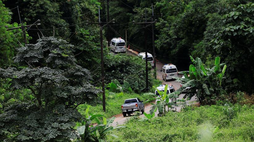 Thailand : Alle 13 Eingeschlossenen aus Höhle gerettet