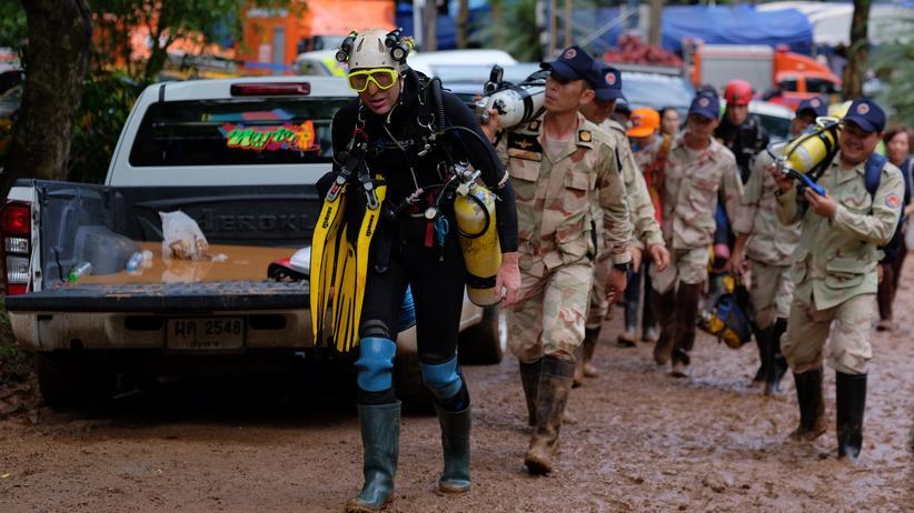 Thailand: Riskanter Tauchgang