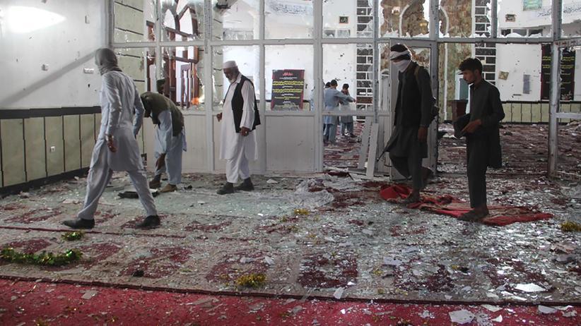 Afghanistan: Viele Tote bei Anschlag auf Moschee in Afghanistan
