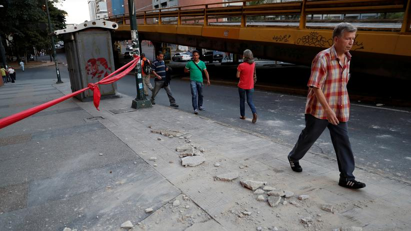 Caracas : Heftiges Erdbeben erschüttert Venezuela