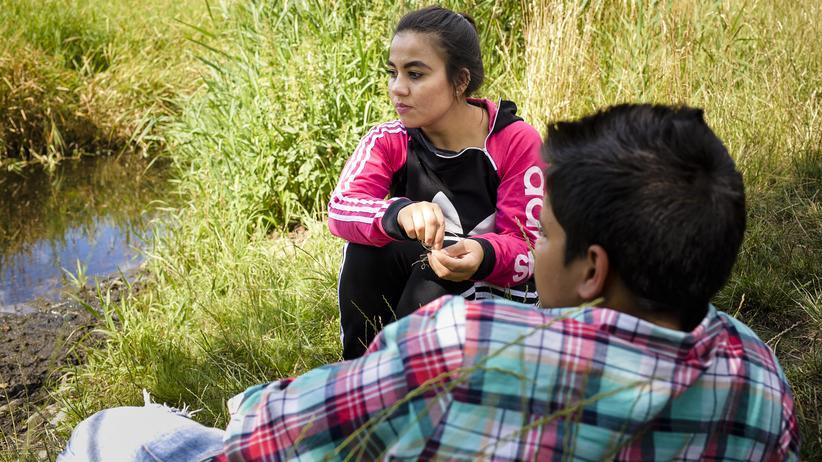 Flucht aus Afghanistan: Krishma regelt das