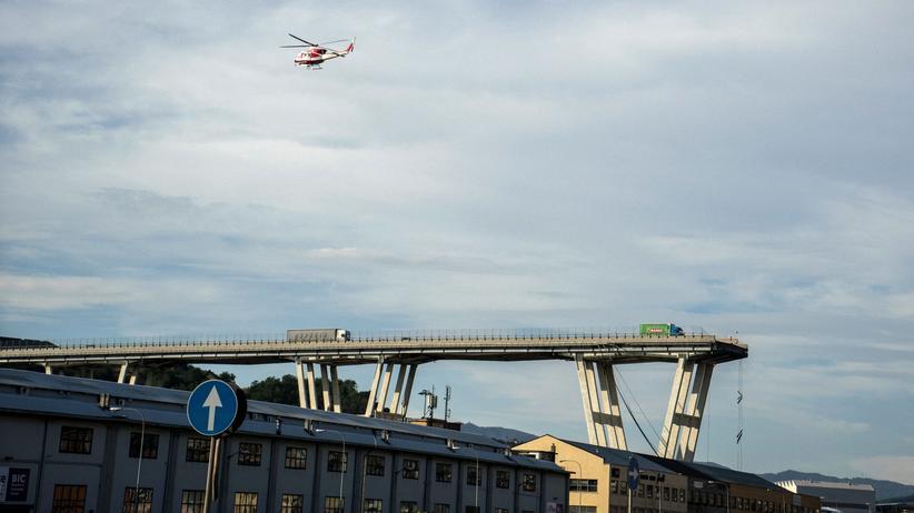 Genua: Italiens Regierung droht mit Verstaatlichung der Autobahnen