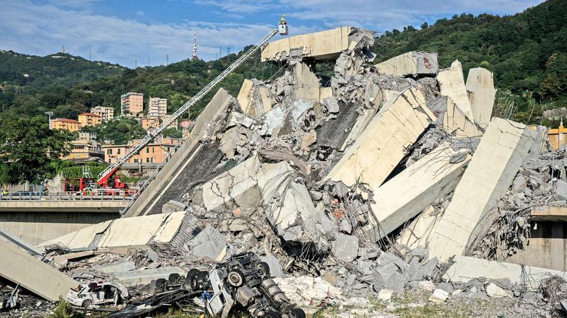 Brückeneinsturz: Italiens Regierung erklärt Genua zum Notstandsgebiet