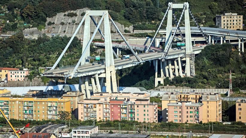 Genua: Experten warnen vor Einsturz der Brückenreste