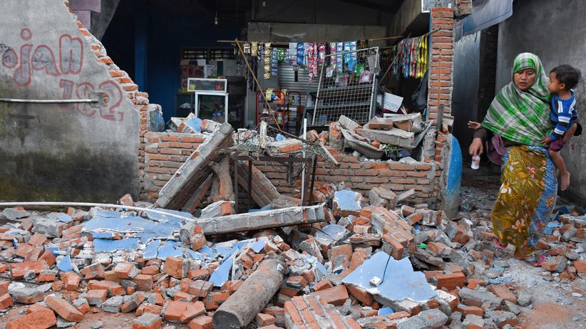 Indonesien: Mehr als 140 Tote nach Erdbeben auf Lombok
