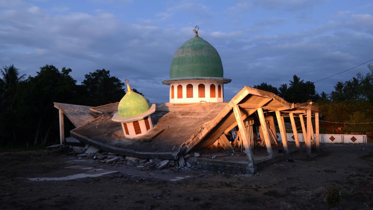 Indonesien: Starkes Nachbeben auf Lombok