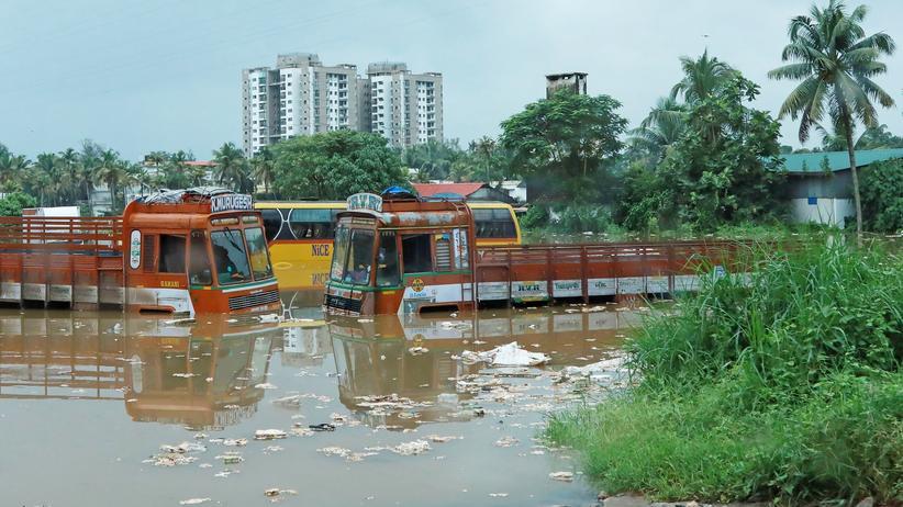 Monsunregen: Zahlreiche Tote in Indien nach starken Regenfällen