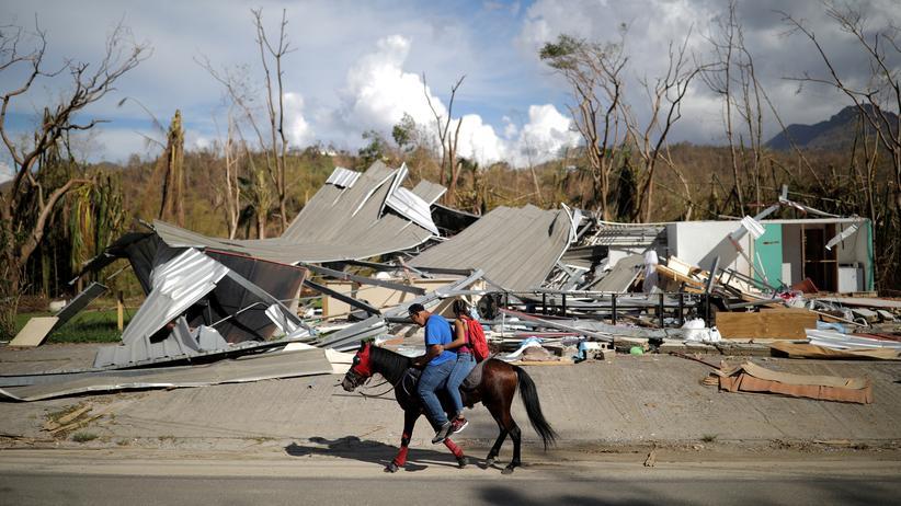 Puerto Rico: US-Verwaltung korrigiert Zahl der Todesopfer durch Hurrikan Maria