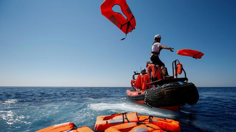 """Rettungsschiff: """"Aquarius"""" bricht zu Rettungseinsatz im Mittelmeer auf"""