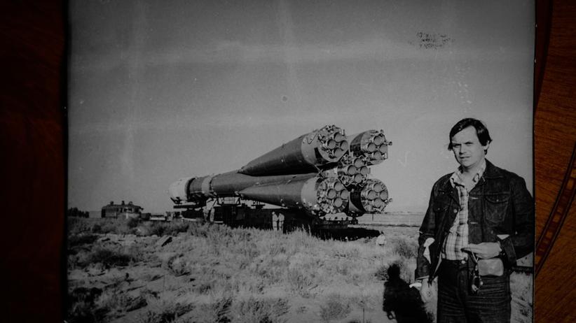 Sigmund Jähn: Gerhard Kowalski in der Nähe des Weltraumbahnhofs Baikonur, 1978