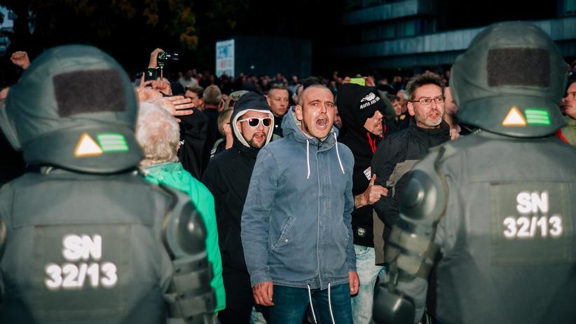 Chemnitz: Eine Stadt im Ausnahmezustand