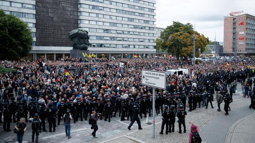 Demonstration Chemnitz Heute